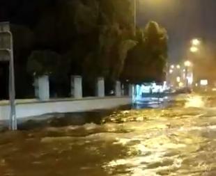 Zafra, segunda localidad más lluviosa del país hoy, superando los 90 litros por metro cuadrado