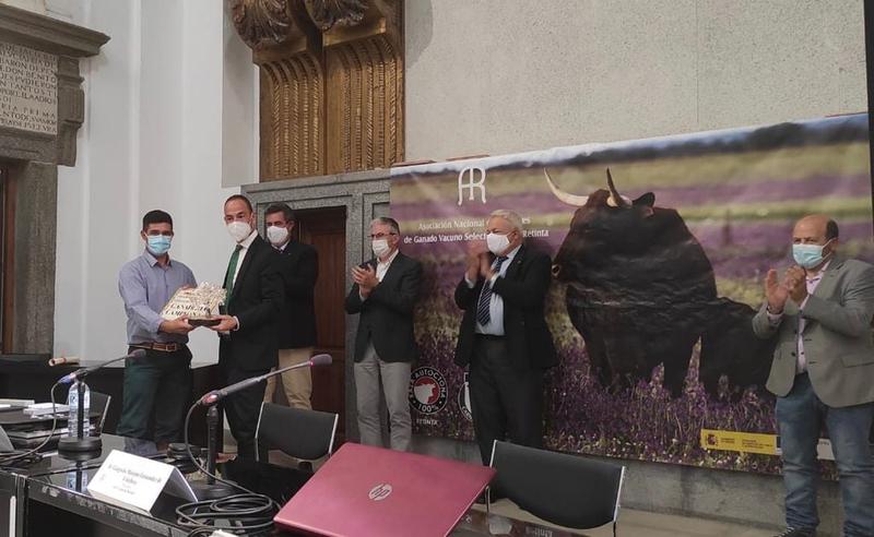 Entregados los premios del Concurso Morfológico Nacional de la Raza Retinta de la Feria de Zafra