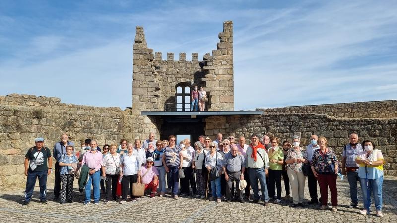 Más de 100 pensionistas fontaneses participaron en el viaje en barco por el Tajo Internacional