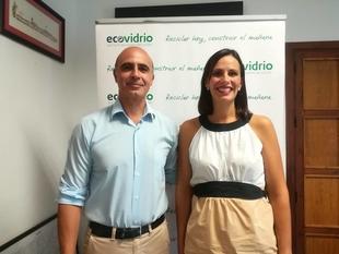 Ecovidrio y el Ayuntamiento de Zafra promueven el reciclaje de vidrio durante la Feria Internacional de Ganado