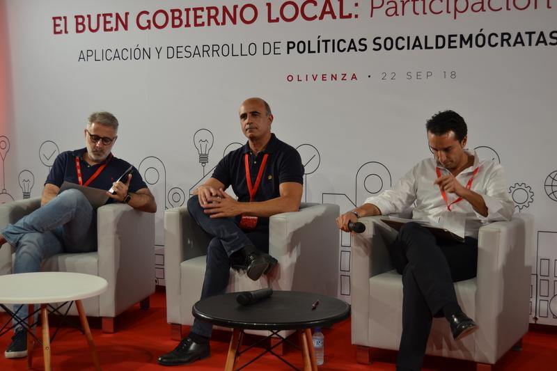 Ell PSOE de Zafra participa en la Conferencia Municipal, el buen gobierno local: Participación y Transparencia organizada por el PSOE provincial