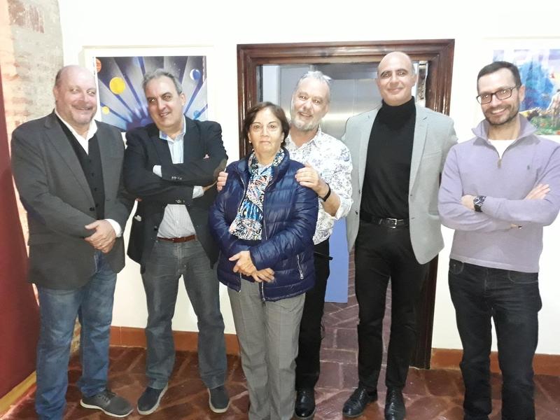 """El Museo de Santa Clara acoge hasta el 10 de diciembre la exposición """"La Creación"""" del zafrense Felipe C. Risco"""