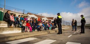 Los alumnos de 1º de Primaria participaron en la actividad de Seguridad Vial organizada por la Concejala de Educación