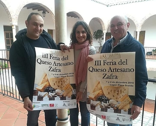 Zafra acoge la III Feria del Queso Artesano los días 1 y 2 de Diciembre