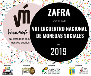 Zafra albergará el VIII Encuentro Nacional de Monedas Sociales en 2019