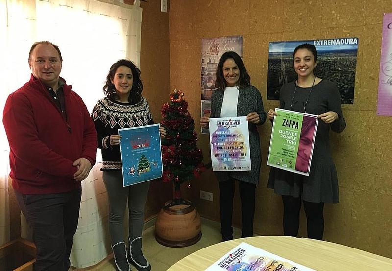 El Merkajoven de Navidad abrirá sus puertas este viernes en la Plaza de España con la participación de 60 artesanos