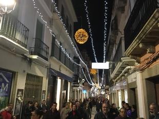 El alcalde cree que las pasadas navidades han sido las mejores de los últimos años