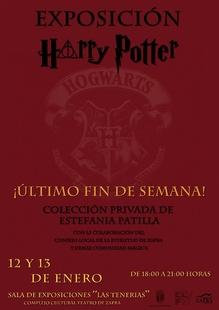 """La Exposición de Harry Potter, se abrirá extraordinariamente el próximo sábado 12 y el domingo 13 de enero y se clausurará con """"Los Cuentos de Beedl"""