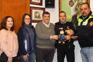 Currito acompañará a la policía local para recaudar fondos contra el cáncer infantil la próxima semana