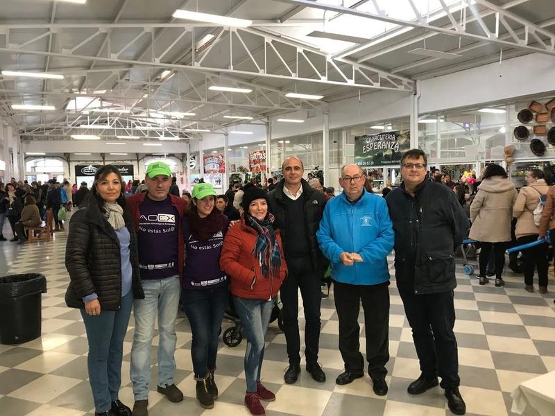 Unas 500 personas han participado en las actividades del día de Santa Brígida en el Mercado de Abastos