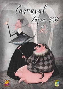 El cartel de Ángela María Sánchez Montaño gana el concurso del Carnaval 2019 de Zafra