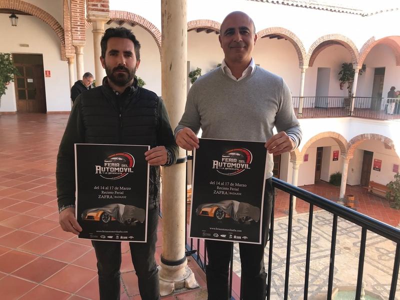 Zafra celebrará del 14 al 17 de marzo su primera Feria del Automóvil y la Motocicleta