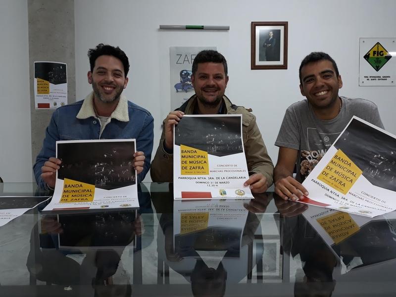 La Banda Municipal de Música de Zafra ofrecerá el día 31 de marzo en La Candelaria un concierto de Cuaresma