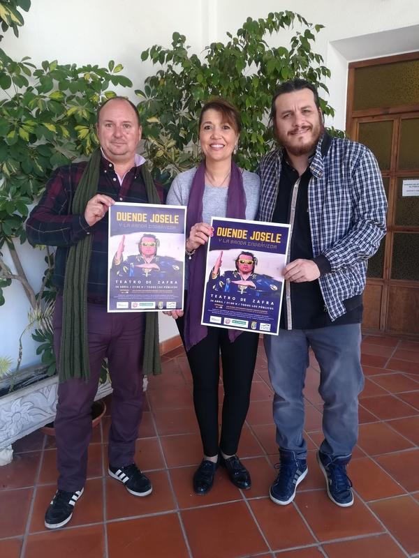 Duende Josele presentará el 26 de abril su disco 'Desnudos integrales' en el Teatro de Zafra