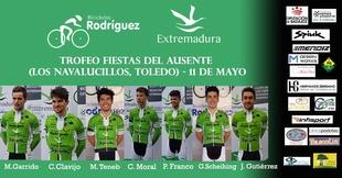 El Bicicletas Rodríguez-Extremadura copa los pódium del Trofeo Fiestas del Ausente