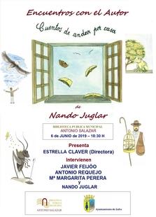 """Nando Juglar presenta este jueves en la biblioteca su libro infantil """"Cuentos de andar por casa"""""""