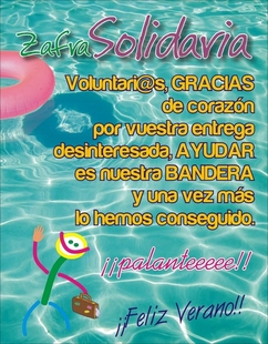 Zafra Solidaria agradece la gran labor desarrollada por sus voluntarios y anuncia que en verano no habrá actividades