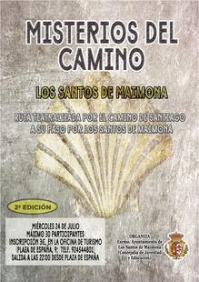 Historias y misterios en la ruta teatralizada que recorre mañana el Camino de Santiago a su paso por los Santos de Maimona