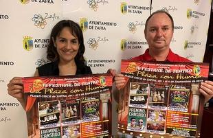 El Ayuntamiento de Zafra presenta la III Edición del Festival `La Plaza con Humor´