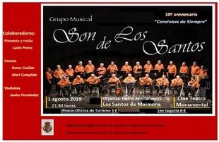 `Son de los Santos´ celebra su X aniversario con un Concierto Especial en el Monumental