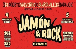 Valverde de Burguillos celebra este fin de semana el Festival `Jamón y Rock´