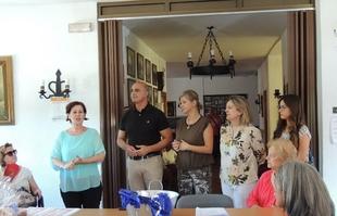 El Alcalde y la concejala de Bienestar Social de Zafra clausuran el programa SEPAD Activo en el Hogar de Mayores