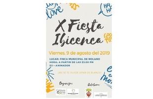 Fuente del Maestre celebra la X Fiesta Ibicenca