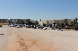 Los nuevos aparcamientos del Hospital de Zafra podrían estar habilitados en 15 días