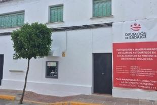 Valverde de Burguillos ya dispone de un Cajero Automático instalado por la Diputación de Badajoz