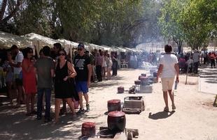 Éxito del Stand de Fuente del Maestre en la Feria Gastronómica y XXXI Día del Garbanzo de Valencia del Ventoso