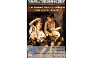 Este viernes se presentan la comedia `Las aventuras del peregrino Horacio y otros chimes de palacio´ en Fuente del Maestre