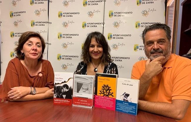 Las obras literarias Cara de Pan, Ordesa, Sur y Feliz Final finalistas del Premio de Narrativa `Dulce Chacón´ 2019 de Zafra
