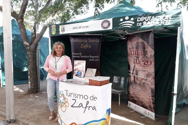 La promoción del turismo de Zafra se consolida en el Día del Garbanzo de Valencia del Ventoso