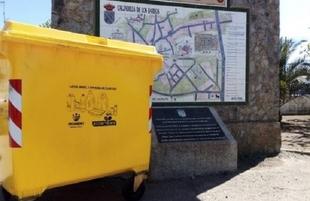 Calzadilla de los Barros empieza a reciclar envases de plástico, latas y briks a través de Promedio