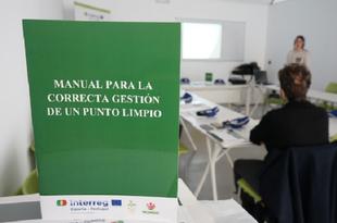 Zafra ha acogido una jornada formativa sobre la gestión de los residuos en puntos limpios impartida por PROMEDIO