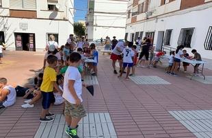 La ludoteca NaturActivaT de Zafra se despidió con una fiesta de convivencia entre niños, monitores y padres