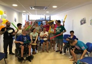 El Curso de Ocio y Tiempo Libre para Discapacitados de Fuente del Maestre acoge actividades muy diversas