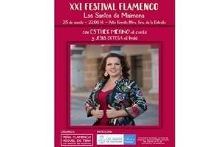 Lo mejor del baile y cante extremeño, en el XXI Festival Flamenco de los Santos de Maimona