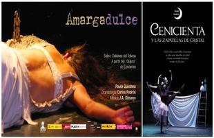 Dulcinea y Cenicienta protagonizan dos obras de teatro y danza en el Monumental de Los Santos