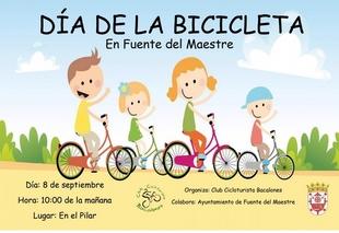 Fuente del Maestre celebra el Día de la Bicicleta