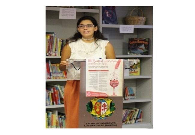 `Una Ilusión Verde Uva´ de Mª Pilar Pavón, premio categoría infantil-juvenil Bienal Literaria de la Uva Beba de Los Santos