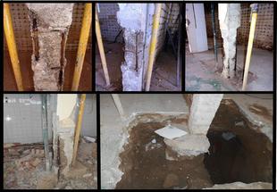 Deficiencias estructurales del edificio retrasan las obras del mercado de Los Santos de Maimona