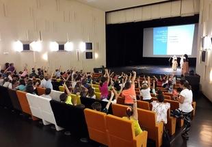 Más de 200 alumnos han participado en las actividades conmemorativas del Día de la Ruta Vía de la Plata de Zafra