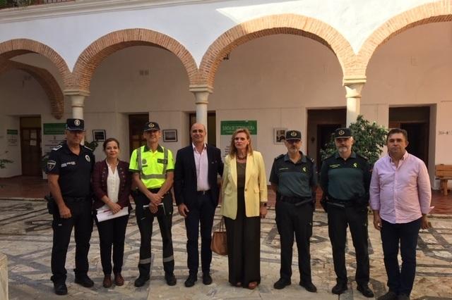 Más de 900 efectivos, el helicóptero y drones de la Guardia Civil garantizarán la seguridad en la FIG de Zafra
