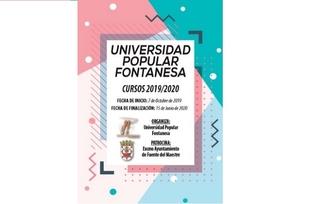La Universidad Popular de Fuente del Maestre presenta su amplia variedad de Cursos 2019/2020