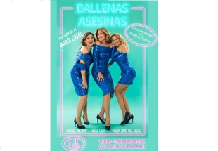 María Casal vuelve a Los Santos de Maimona con `Ballenas Asesinas´