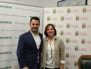 El Ayuntamiento de Zafra y Ecovidrio promueven el reciclaje durante la Feria de Zafra