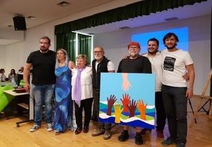 Se sortea una obra del pintor Pepe Pírfano, de Fuente del Maestre, a favor de la ONG OXFAM INTERMÓN