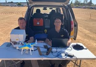 El tráfico y la seguridad de la FIG, controlados por primera vez por drones el sábado y el domingo