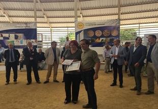 Una cabrita de Raúl Rodríguez Elías gana el Concurso Morfológico Nacional de la Raza Caprina Florida de la Feria de Zafra